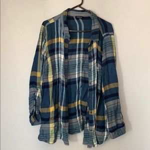Lucky brand vintage flannel